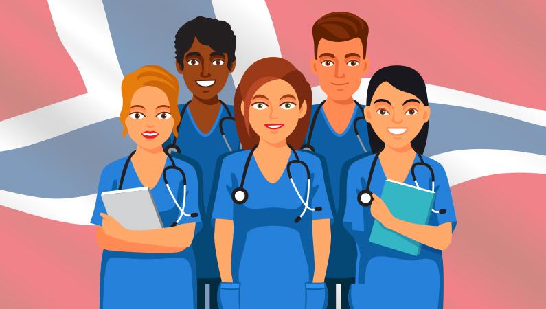 1000 sygeplejesker uddannet i Danmark arbejder i Norge
