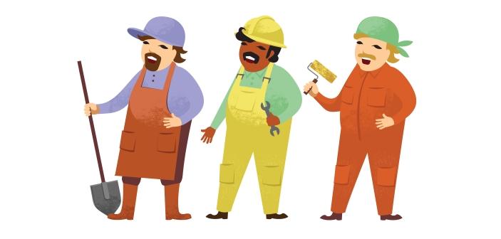 Der findes mange jobs med praktisk arbejde