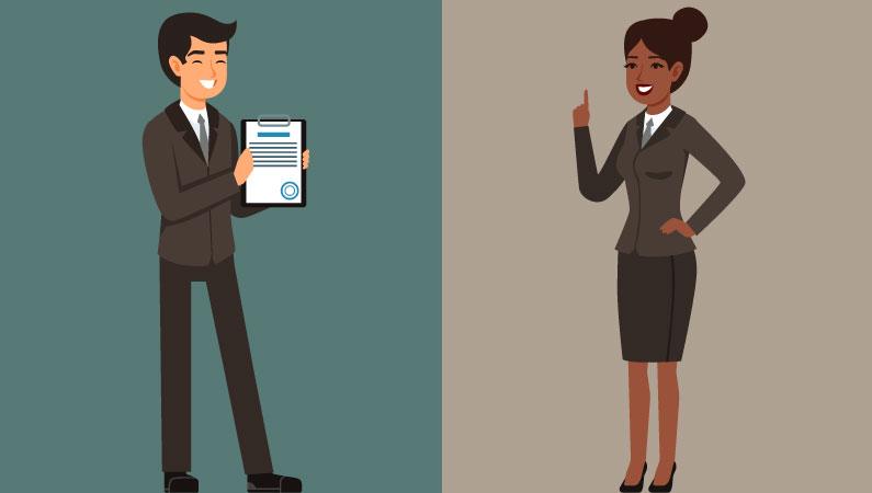 Advokat jurist forskel