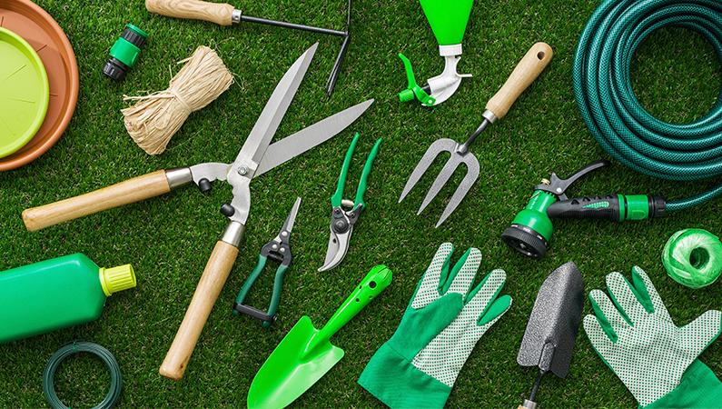 Havearbejdet bliver en leg