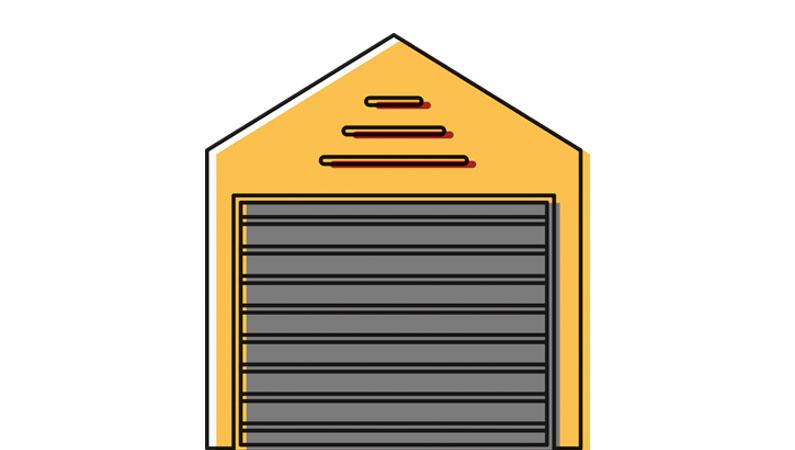 Depotrums størrelse