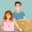 Mand og kvinde starter webshop