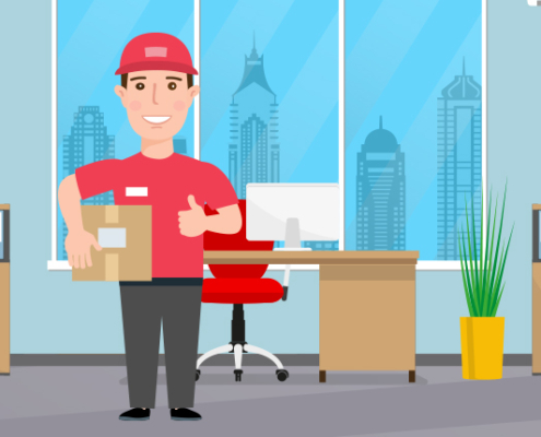 Få leveret dine pakker på din arbejdsplads
