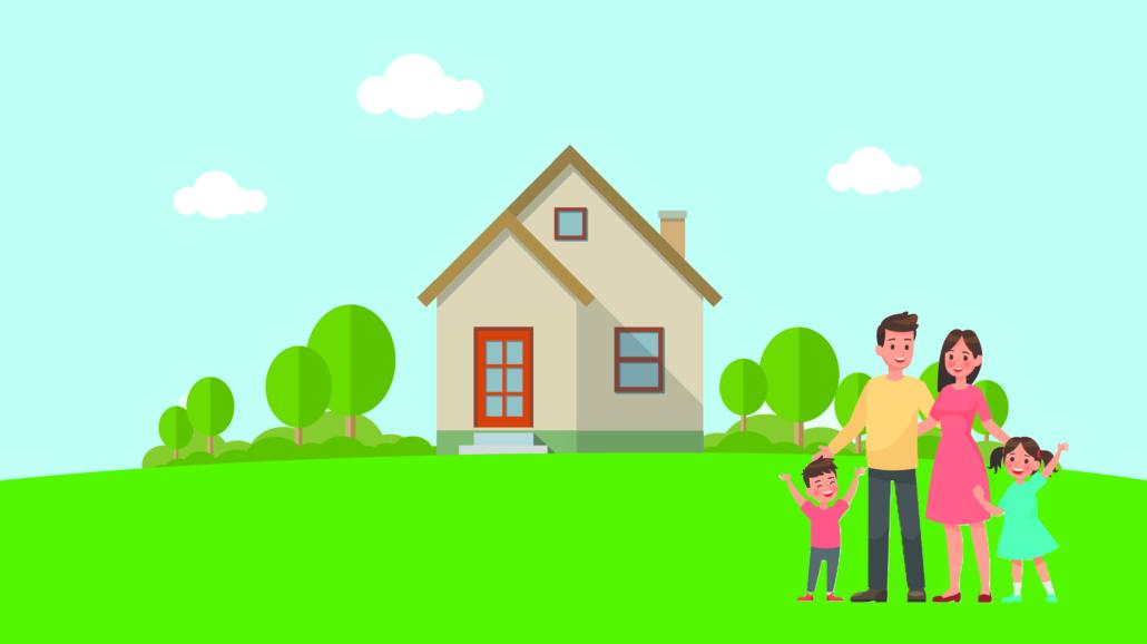 familie-flytter-i-hus