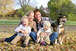 hund-og-familie