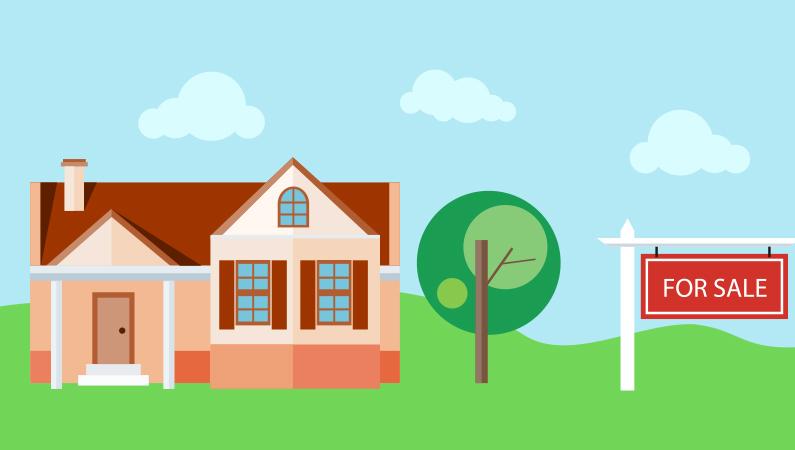 Huspriserne falder uden for byerne