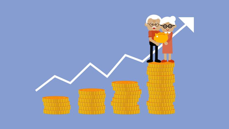 Er din pensionsopsparing stor nok til at du kan trække dig fra arbejdsmarkedet tidligere?