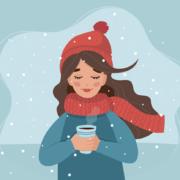 pige-varmer-sig-i-vinterkulde