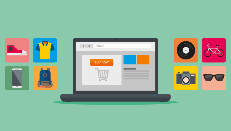 Mange shopper online