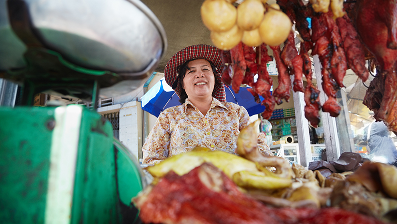 Mad fra gadekøkkener kan være en farlig infektionskilde