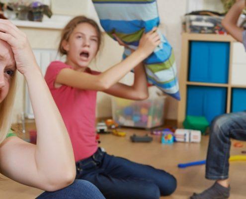 Familiens hverdag kan være svær at få til at hænge sammen