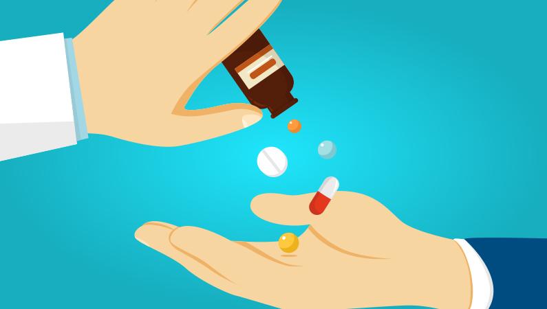 Tag smertestillende rigtigt